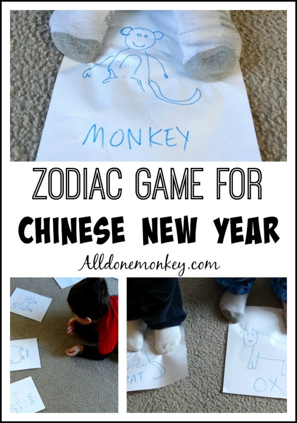 Chinese Zodiac Game for Chinese New Year | Alldonemonkey.com
