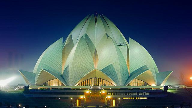 Learning about India: The Lotus Temple and Sacred Geometry - All