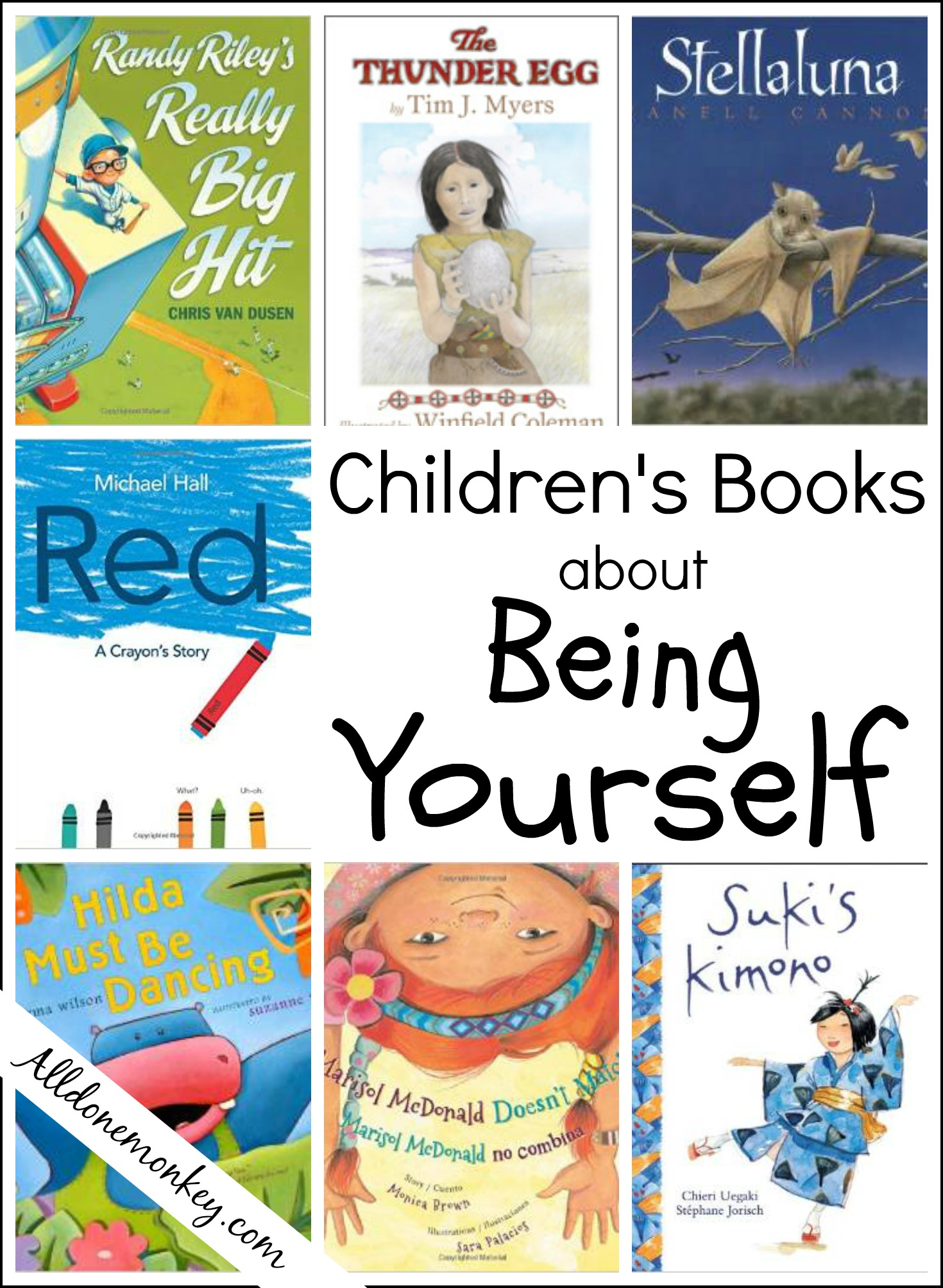 Childrens Books About Being Yourself All Done Monkey