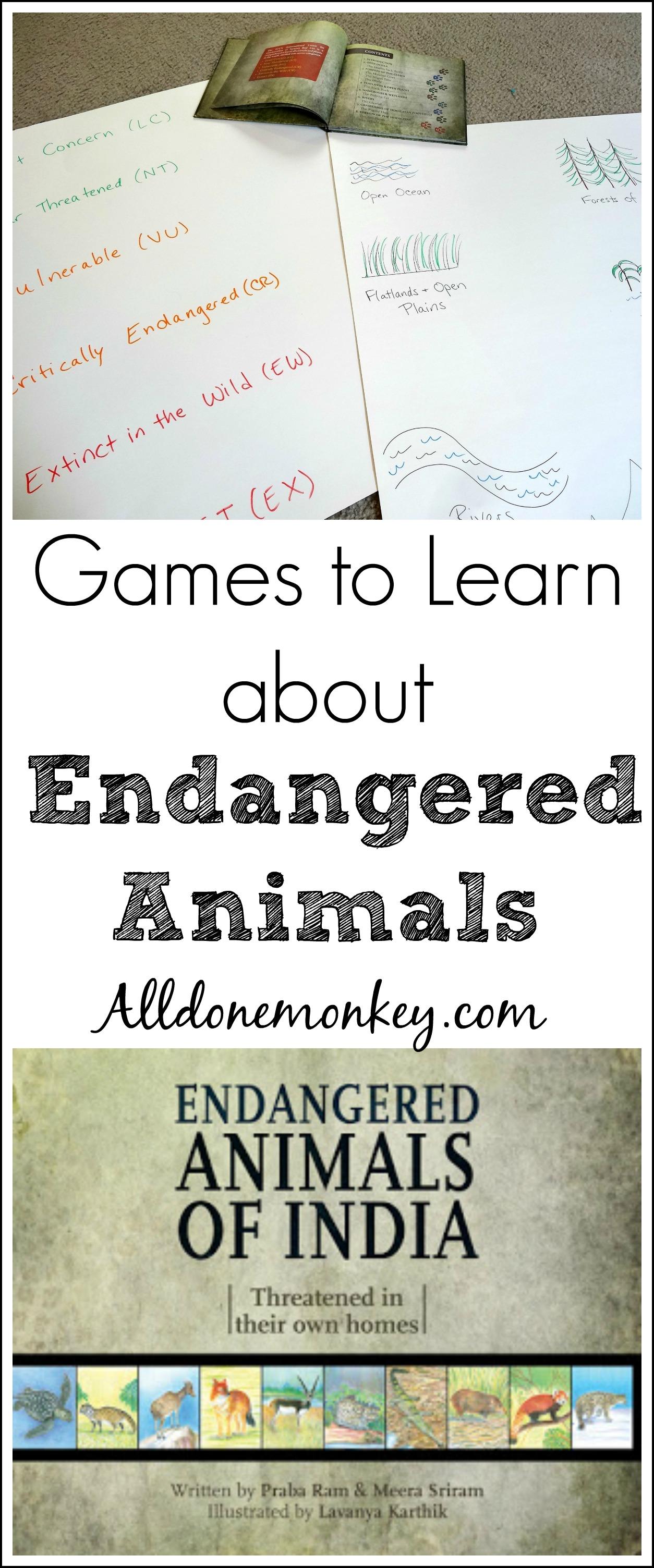 India Endangered Animals Games
