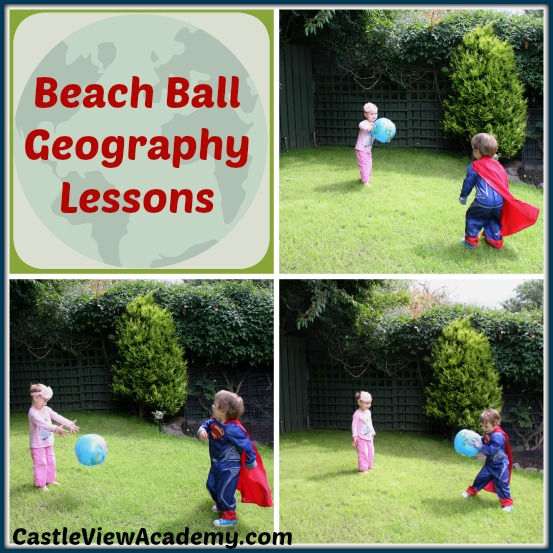 Beach Ball Geography Lesson - Castle View Academy