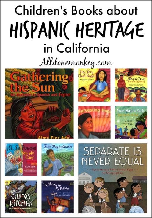 Hispanic Heritage in California: Children's Books | Alldonemonkey.com
