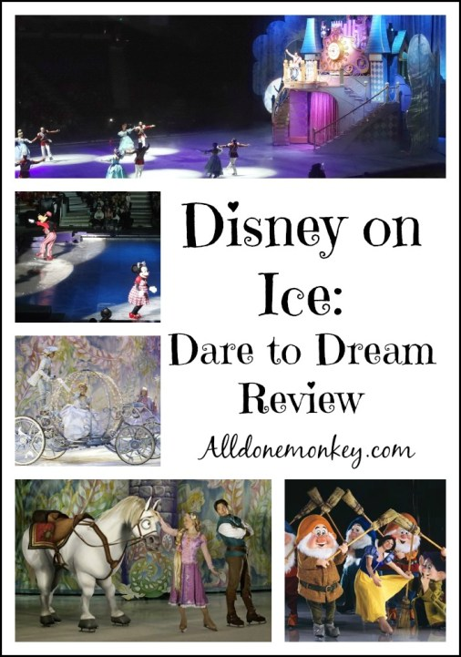Disney on Ice Dare to Dream | Alldonemonkey.com