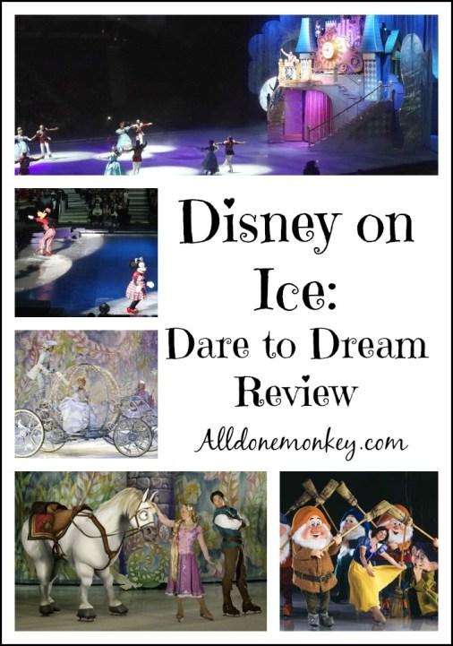 Disney on Ice Dare to Dream | Alldonemonkey.com