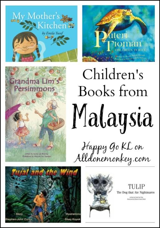 Children's Books from Malaysia | Alldonemonkey.com