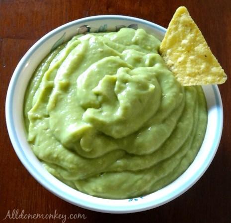Las Posadas: Creamy Avocado Salsa Recipe | Alldonemonkey.com