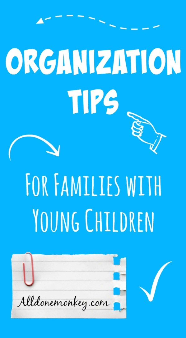 Our favorite household organization tips