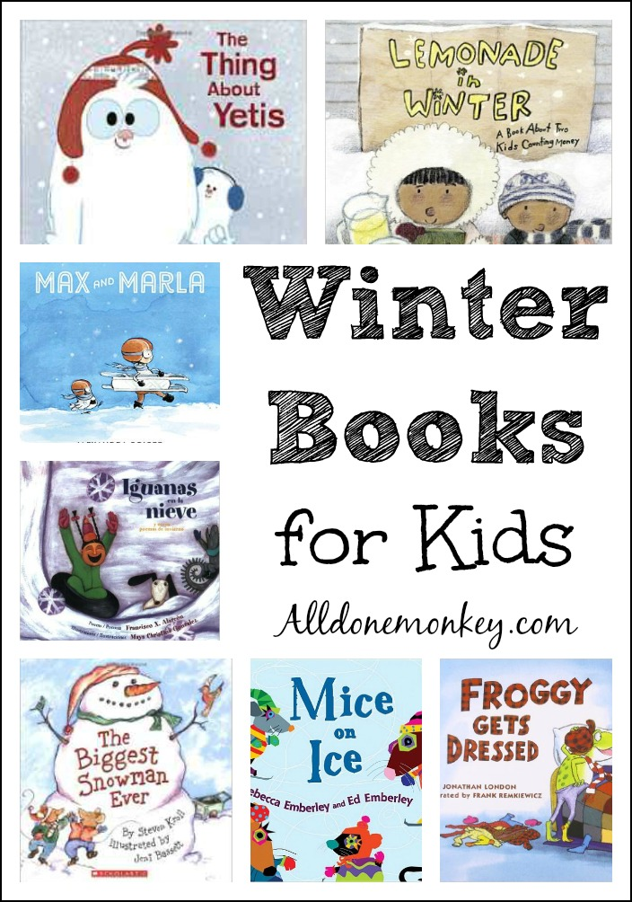 Winter Books For Kids All Done Monkey