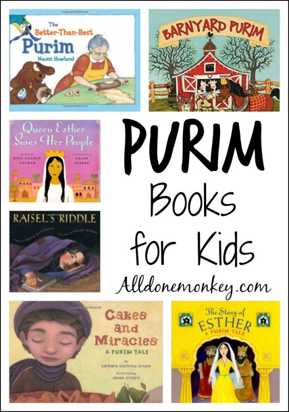 Favorite Purim books for kids