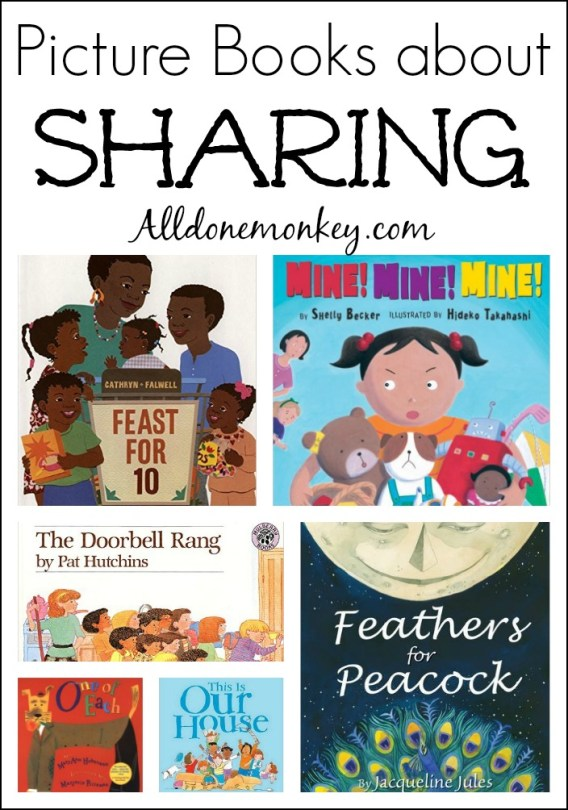 Picture Books about Sharing | Alldonemonkey.com
