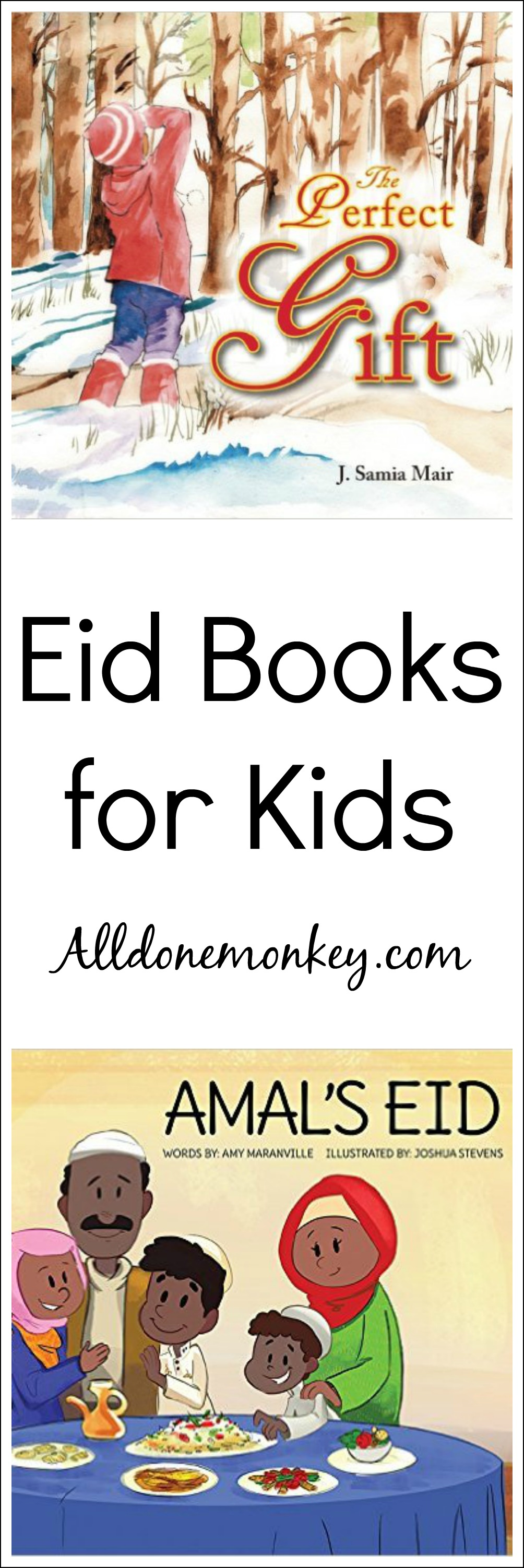 Eid Books For Kids  All Done Monkey