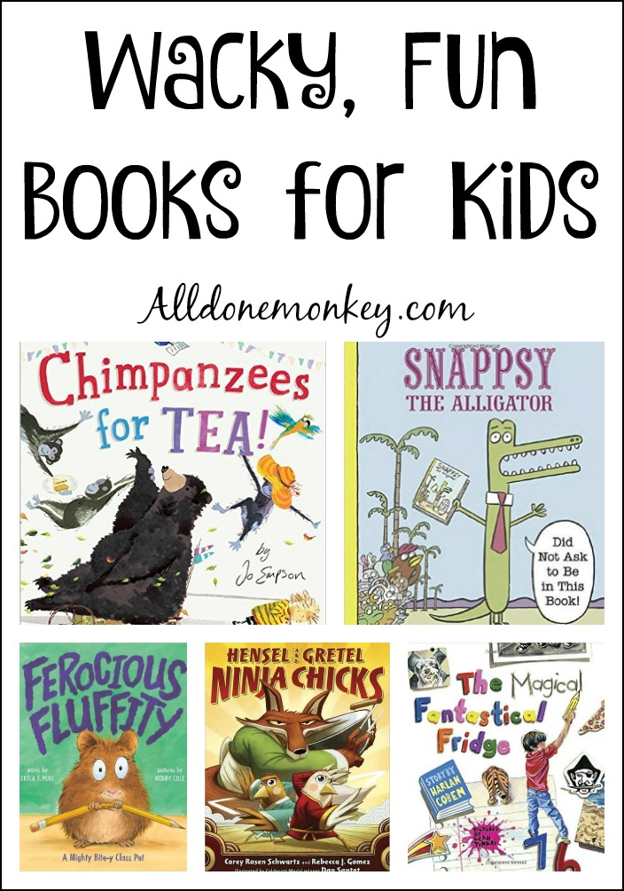 Wacky, Fun Books For Kids  All Done Monkey