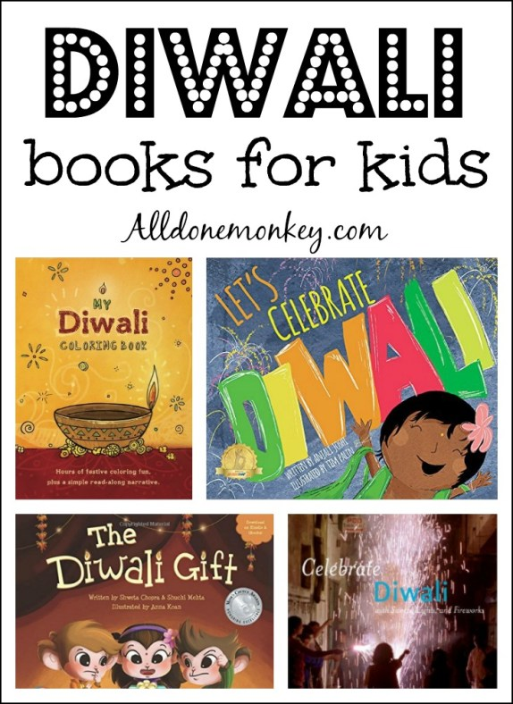 Diwali Books for Kids | Alldonemonkey.com