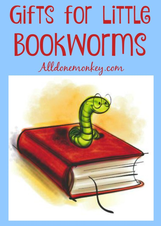 Gifts for Little Bookworms | Alldonemonkey.com