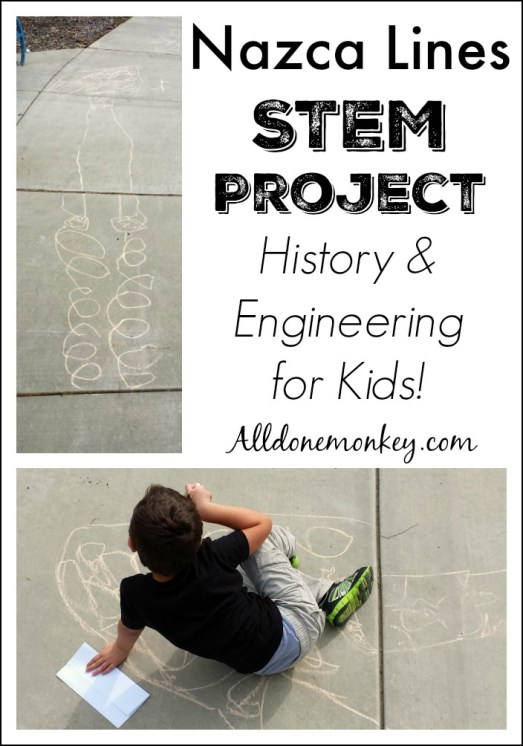 Nazca Lines STEM Project | Alldonemonkey.com