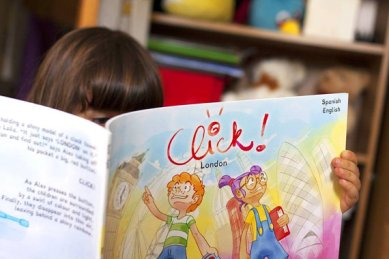 Travel Books for Kids: Click the Book - London