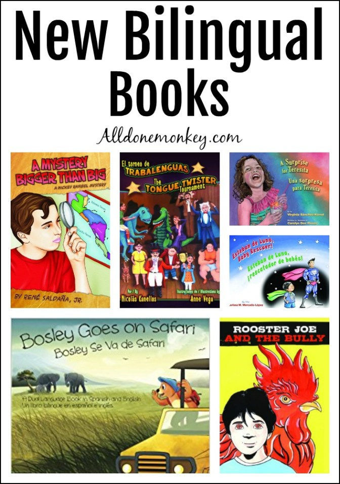 New Bilingual Books for Kids of All Ages   Alldonemonkey.com