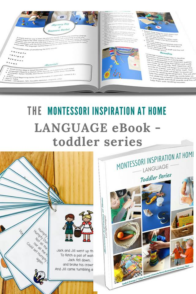 Montessori Inspiration at Home - Toddler Series