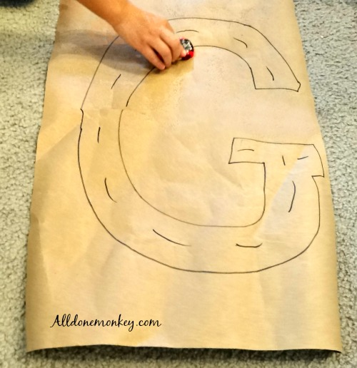 Toddler Letter Craft and Activity: G Is for Go   Alldonemonkey.com