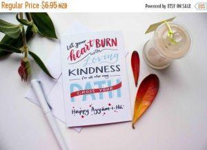 Let Your Heart Burn Card