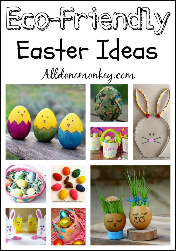 Eco-Friendly Easter Ideas for Kids | Alldonemonkey.com