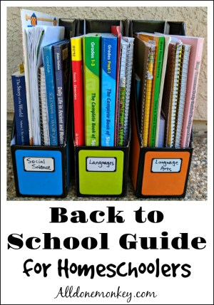 Back to School Guide for Homeschoolers