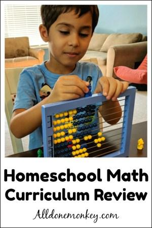 Homeschool Math Curriculum Review: Elementary