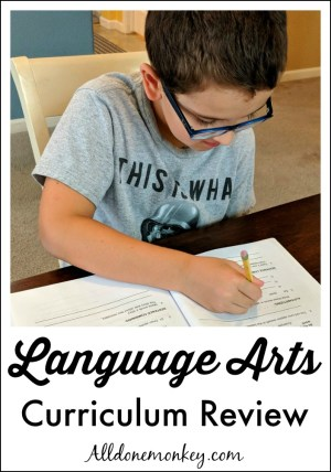 Homeschool Language Arts Curriculum Review: Elementary