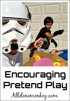 Encouraging Pretend Play: 3 Simple Tips