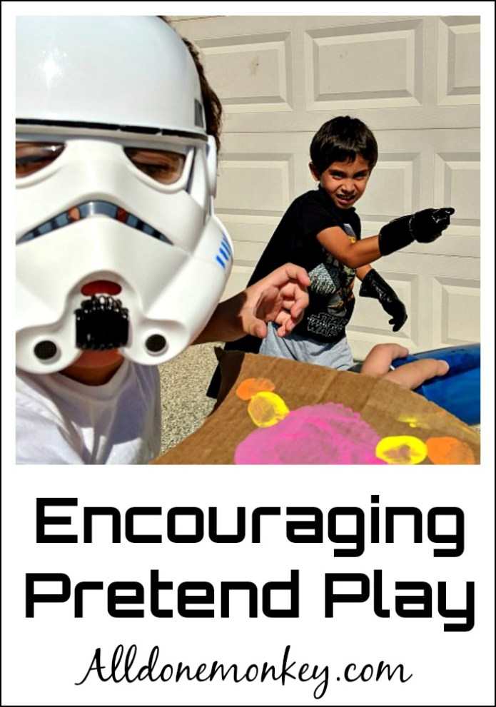 Encouraging Pretend Play: 3 Simple Tips | Alldonemonkey.com
