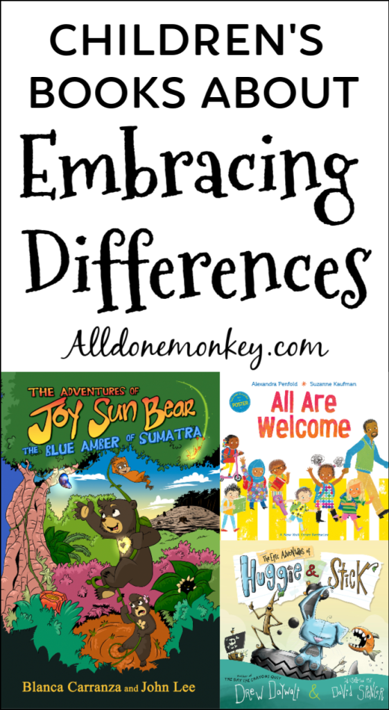 Children's Books About Embracing Differences | Alldonemonkey.com