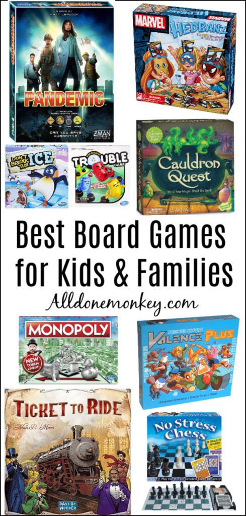 Best Board Games for Kids and Families | Alldonemonkey.com