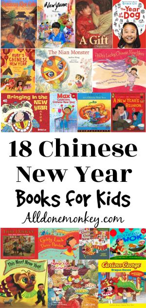 18 Chinese New Year Books for Children