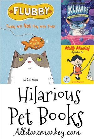 Hilarious Books for Kids About Pets