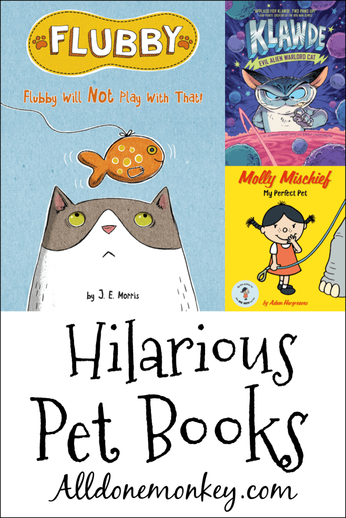 Hilarious Books for Kids About Pets | Alldonemonkey.com