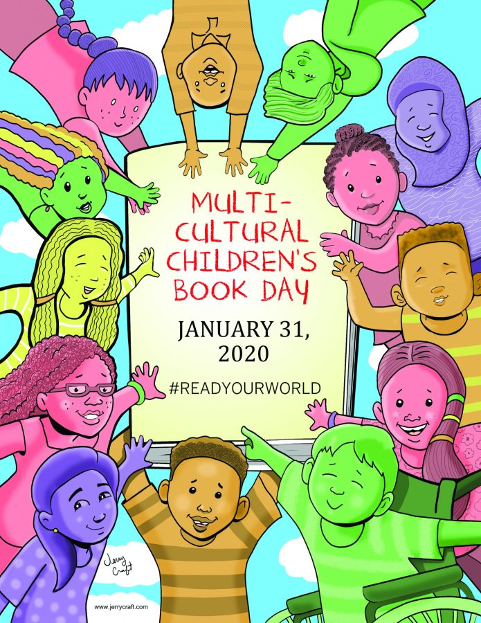 Multicultural Children's Book Day 2020 poster