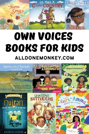 Own Voices Books for Kids