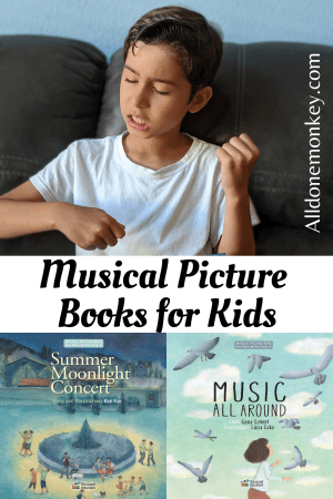 Unique Books for Kids: Musical Picture Books