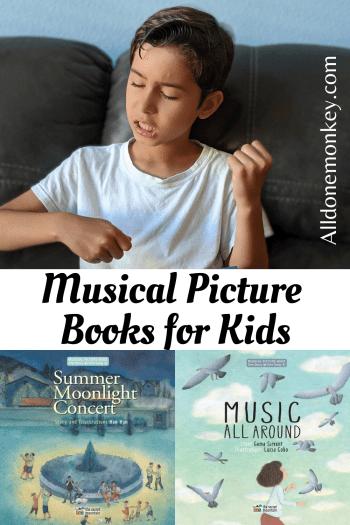 Unique Books for Kids: Musical Picture Books | Alldonemonkey.com