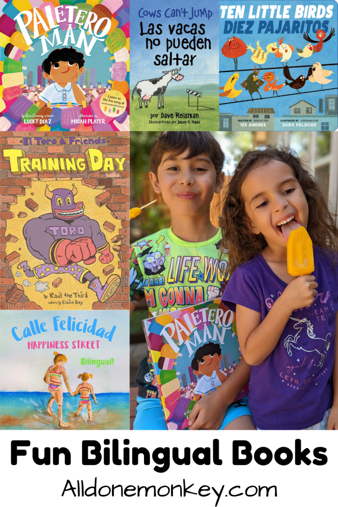 Fun Bilingual Books for Kids of All Ages | Alldonemonkey.com