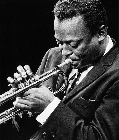 Today: Miles Davis passed away in 1991 - 21 years ago ...