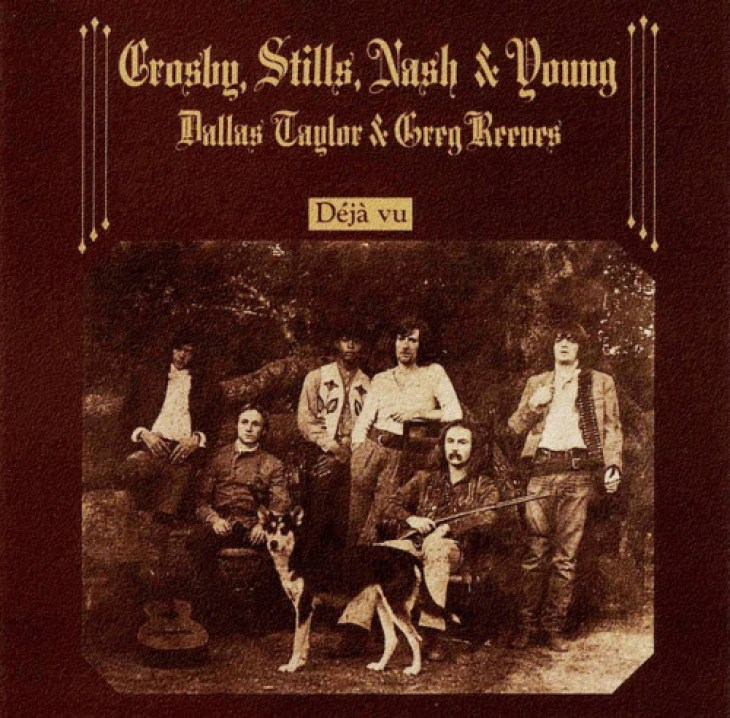 crosby stills nash young deja vu