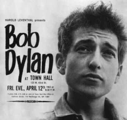 bob dylan town hall 1963
