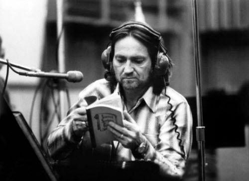 willie nelson studio mid 70's