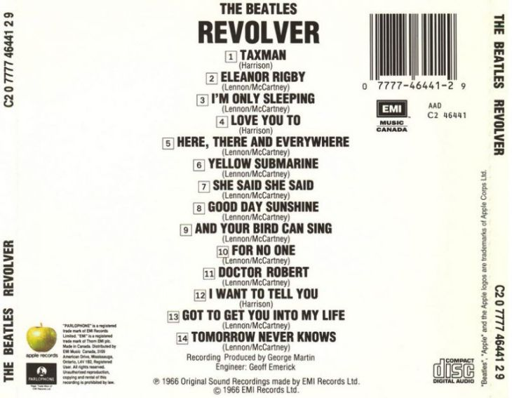 The-Beatles-Revolver CD back
