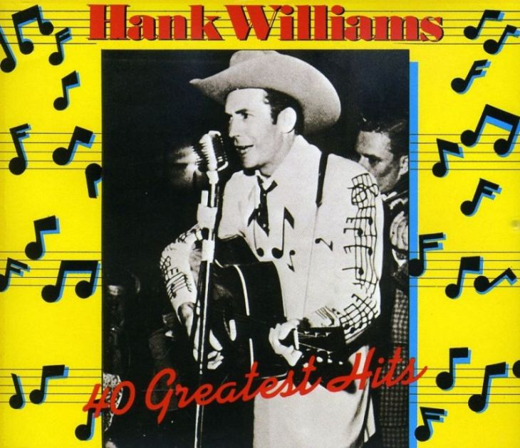 hank williams 40 greatest hits