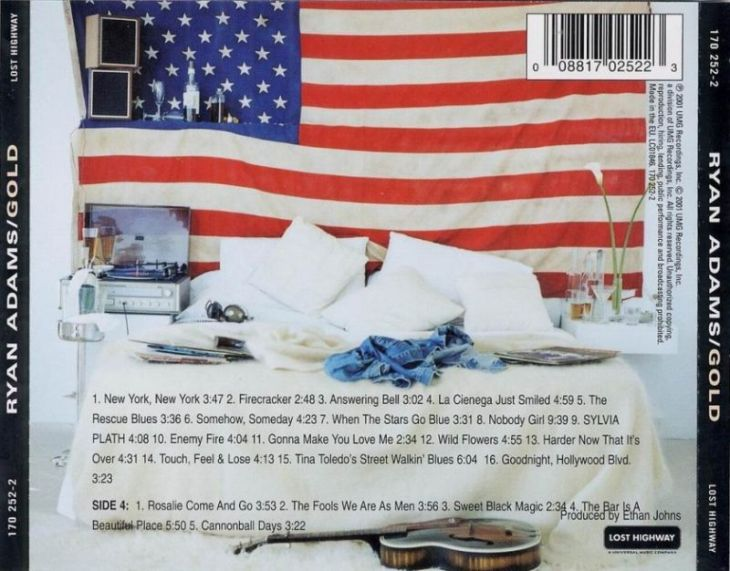 ryan adams gold-back-cover