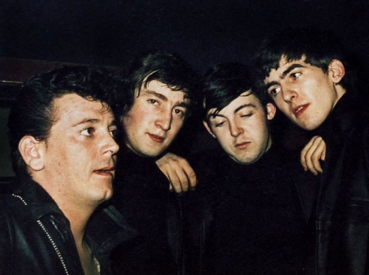 gene vincent and the beatles