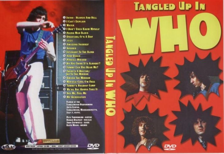 The Who tanglewood 1970