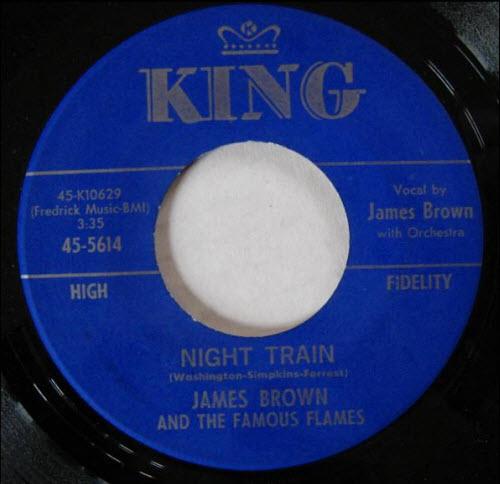 Night Train - Jame Brown